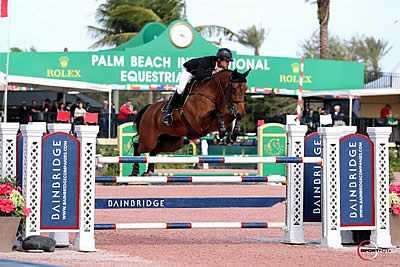 Eugenio Garza and Bariano Win $35,000 Bainbridge FEI 1.45m Classic at WEF