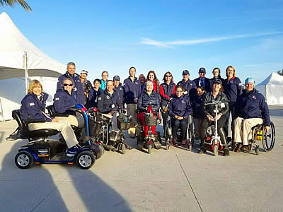 US Para-Dressage Displays Readiness in Wellington CPEDI3* for World Equestrian Games
