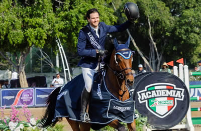 Luis Alejandro Plascencia O Leads Longines Podium Sweep for Mexico in Guadalajara