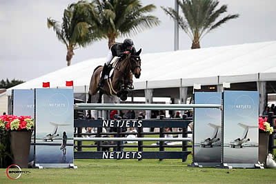 Daniel Bluman and Sancha LS Fly to $205,000 NetJets Grand Prix CSI 4* Victory