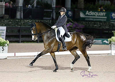 Ashley Holzer Posts New Personal Best on Promising Mare in Week Seven of AGDF