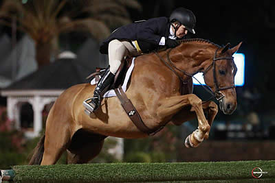 Louise Serio and Rock Harbor Win $100k WCHR Peter Wetherill Palm Beach Hunter Spectacular