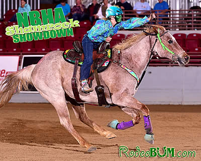 Barrel Racers Run for Pot of Gold at Shamrock Showdown Held at Jacksonville Equestrian Center