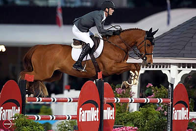 Spencer Smith Is Only Clear to Win $132,000 Horseware Ireland Grand Prix CSI 3*