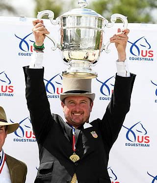 Chester Weber Claims 15th USEF Four-in-Hand Combined Driving National Championship Title