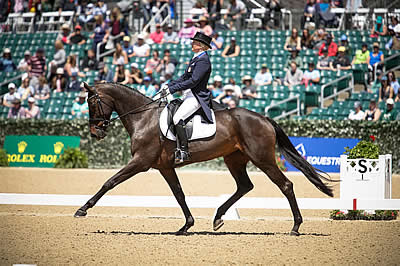 Little Comes Up Big in Dressage at Land Rover Kentucky Three-Day Event
