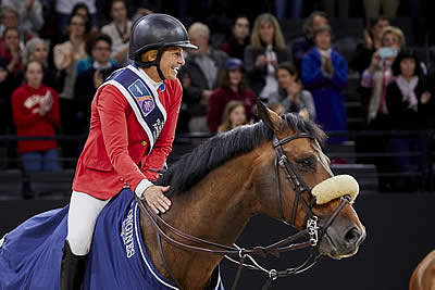 Beezie and Breitling Are Unbeatable Again in Paris