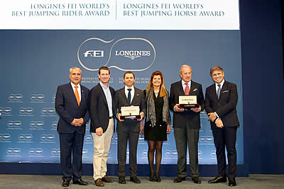 US Olympians Claim Longines FEI Awards for Best Jumping Rider and Best Horse