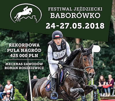Eventing's World Number One in Baborówko