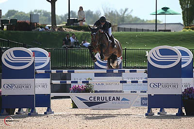 Lambre Stamps His Name on First Week of 2018 FEI Jumping CSI 2* Competition at TIEC