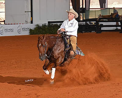 Carolina Classic at TIEC Boasts Top National and International Reining Competition