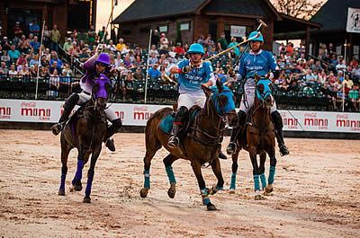 "Team Charlotte Fights to Victory in Gladiator Polo ""Battle for North Carolina"""