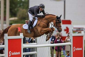 Eric Lamaze Scores Back-to-Back Wins at Spruce Meadows