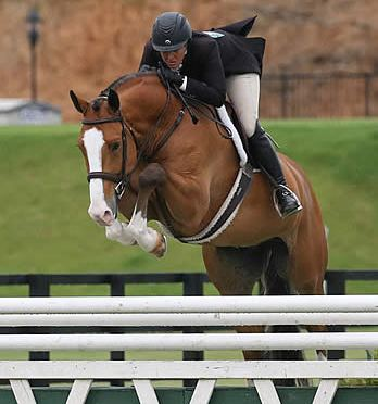 Curtin Claims First $50,000 USHJA International Hunter Derby Win during Tryon Summer IV