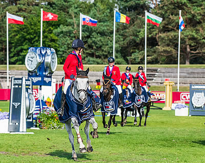 Six-Time Gold for the Netherlands at Fontainebleau
