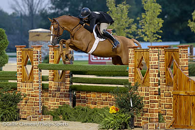 Private Practice Carries Victoria Colvin to Repeat USHJA International Hunter Derby Championship