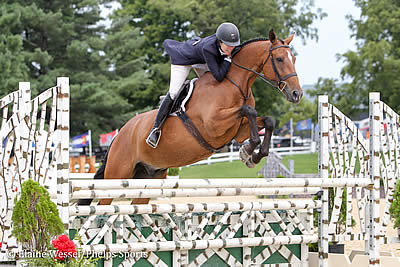 Patricia Griffith and Sandy Ferrell Earn Top Honors in USHJA Green Hunter Incentive Championship