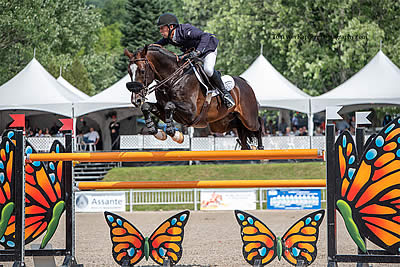 Jonathan McCrea & Aristoteles V Fly to Victory in the Final Grand Prix at Bromont