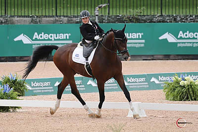 Stinna Steals the Show as Adequan Para-Dressage Makes Its Entry at Tryon