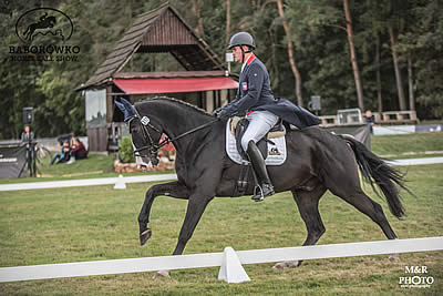 Mateusz Kiempa and Lassban Radovix Are in the Lead after Dressage
