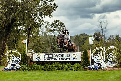 Klimke in Control after Cross Country as Irish Eventers Come to Party