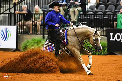 McCutcheon Steals the Show as United States Retains Reining Team Title