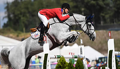 Swiss Stay on Top, but USA Stalking Closely Going into Jumping Team Medal-Decider