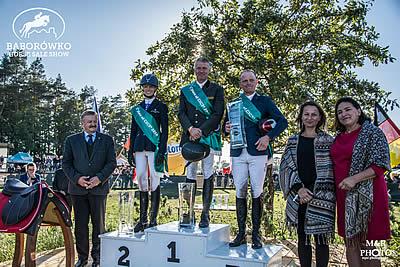Andreas Dibowski Wins in Baborówko
