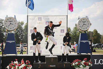 Eugenio Garza Perez Soars, Taking Longines Victory at Columbus