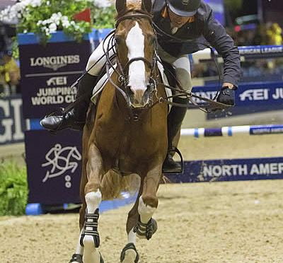 Wilhelm Genn Puts On a Show in Sacramento to Notch First Longines Victory