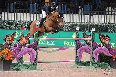 Scott Keach and Fedor Bound to Blue in the $35,000 1.50m Welcome Stake CSI 3*