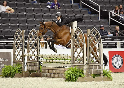 Lily Pollin and Allison Cederberg Claim $10k WIHS Children's and Adult Hunter Championships