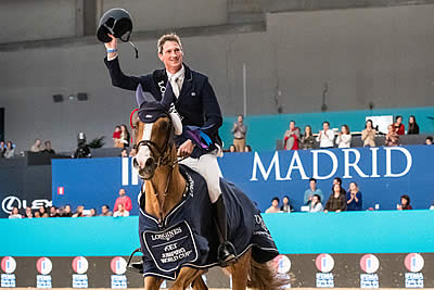 Deusser Makes It a Double in Madrid