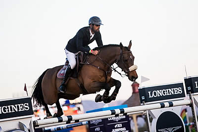 Nassar and Lordan Repeat Longines Victory in Thermal