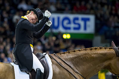 Isabell Werth and Weihegold Old Back to Top FEI Dressage World Rankings