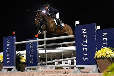 Victory in $72k NetJets Grand Prix CSI 2* Goes to Mario Deslauriers and Amsterdam 27