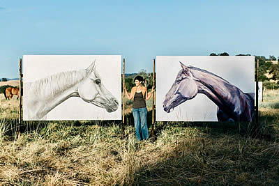 Suzie Burgess's Life-Size Art to Be Featured at Temecula Valley National Horse Show