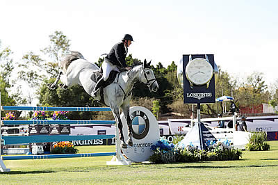 Coyle and Eristov Top Two-Horse Jump-Off for Longines Victory in Leon