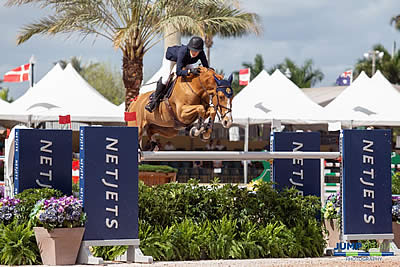 Jessica Springsteen Crowned Martha Jolicoeur Leading Lady Rider for WEF Week 7