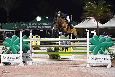 Derbyshire and Roulette BH Top All-Female Jump-Off in Horseware Ireland Grand Prix CSI 3*