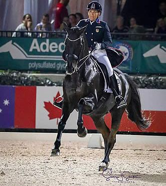 Shelly Francis and Danilo Break 81% with FEI Grand Prix Freestyle CDIO3*