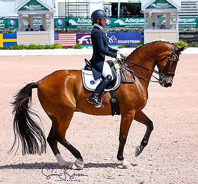 Hard Work Pays Off for Jessica Kozel and Denzello with Win in FEI Grand Prix CDI4*