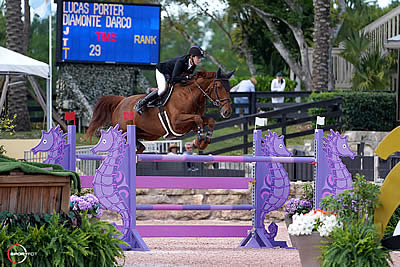 Lucas Porter Sails to Victory in $36,000 Douglas Elliman 1.45m CSI 5* at WEF