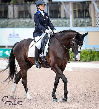 Roxanne Trunnell and Dolton Win FEI Para Team Test Grade I CPEDI 3* at AGDF