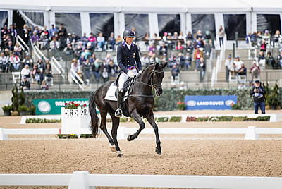 Martin and Tsetserleg Lead Land Rover/USEF CCI5* Eventing National Championship after Dressage