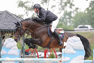 Darragh Kenny Takes Top Two Spots in 1.45m Open Jumpers at Kentucky Spring Horse Show