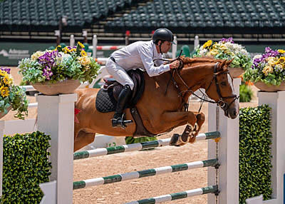Santiago Lambre and Ibabco Top the $36,000 1.45m Sunday Classic at Tryon
