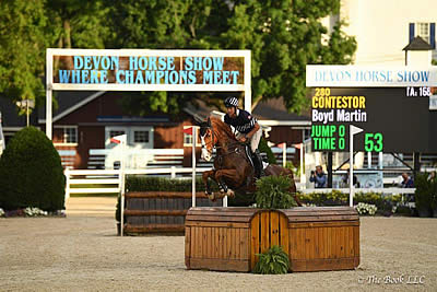 Boyd Martin and Contestor Clinch $50,000 Devon Arena Eventing Competition