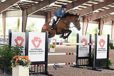 Blythe Masters and Eriana Claim Victory in $5,000 SemiCan 1.40m Open Stake at ESP Spring V
