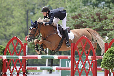 Brian Moggre Blazes to $36,000 Welcome Speed CSI3* Win with MTM Flutterby